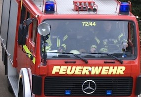 Großfeuer in Wedel