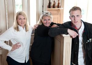 Zwei Generationen - ein gemeinsames Ziel: die Heinsen's Gäste sollen sich wohlfühlen