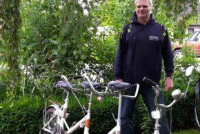 Ausstellung alter Fahrräder