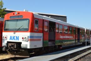 Ersatzverkehr auf der AKN-Linie A1