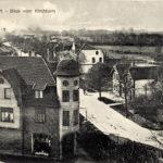Die Kieler Straße im Jahr 1917 Foto zur Verf. gest. von Johannes Schneider