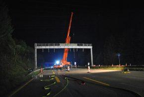 Tödlicher Unfall bei A7-Ausbau